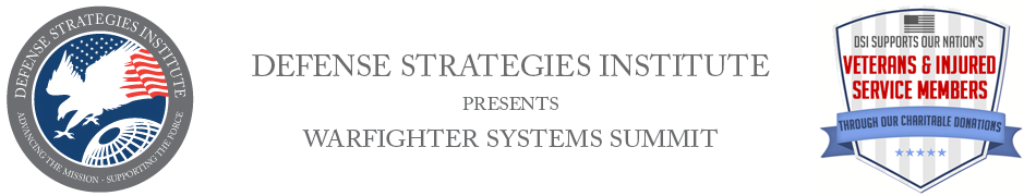 Warfighter Systems Summit | DEFENSE STRATEGIES INSTITUTE