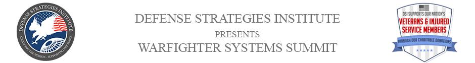 Warfighter Systems Summit | DEFENSE STRATEGIES INSTITUTE